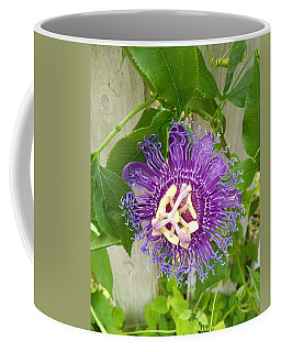 Purple Passionflower Coffee Mug