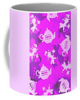 Purple Tea Party Coffee Mug