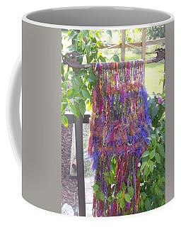 Purple Weaving Coffee Mug