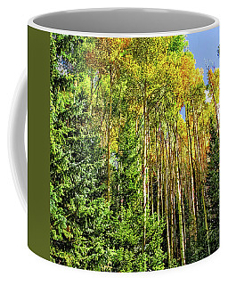 Quaking Aspens Coffee Mug