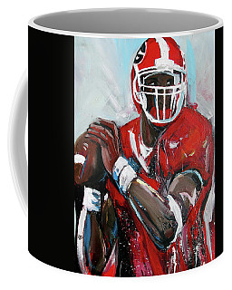 Quarterback Coffee Mug