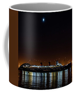 Queen Mary And The Moon - Square Coffee Mug