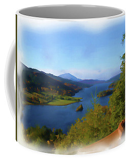 Queens View Painting Coffee Mug