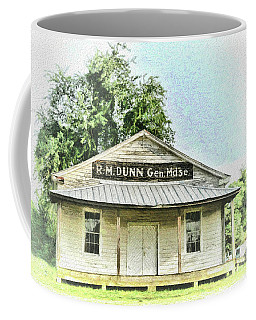 Coffee Mug featuring the photograph Quiet Reminder Of Yesterday In Goochland, County Virginia by Ola Allen