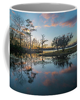 Quiet River Sunset Coffee Mug