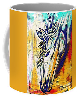 Coffee Mug featuring the mixed media Quiet Strength by Jessica Eli