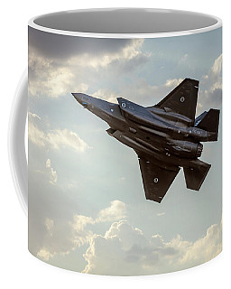 Coffee Mug featuring the photograph Raaf F-35a Lightning II Joint Strike Fighter by Chris Cousins