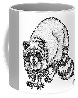 Raccoon Coffee Mug