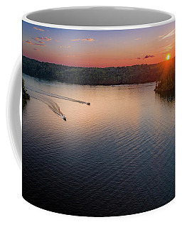 Racing The Sun Coffee Mug