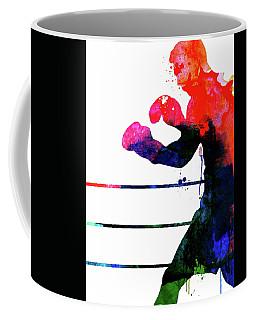 Raging Bull Watercolor Coffee Mug