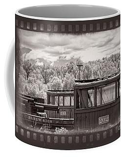 Railroad Cars Coffee Mug