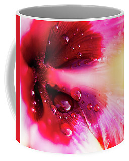 Coffee Mug featuring the photograph Rain Flower by Mike Long