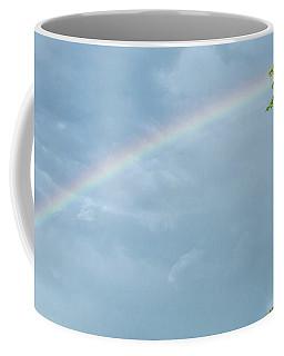 Rainbow And A Tree Coffee Mug
