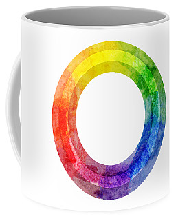 Rainbow Color Wheel Coffee Mug