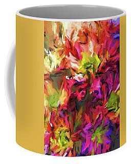 Rainbow Flower Rhapsody In Pink And Purple Coffee Mug