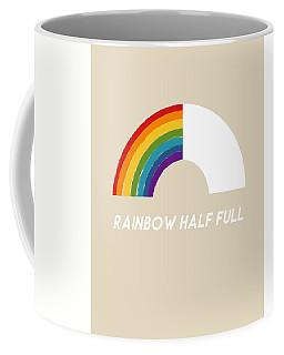 Rainbow Half Full- Art By Linda Woods Coffee Mug