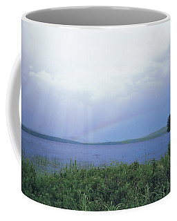 Rainbow Over Raquette Lake Coffee Mug