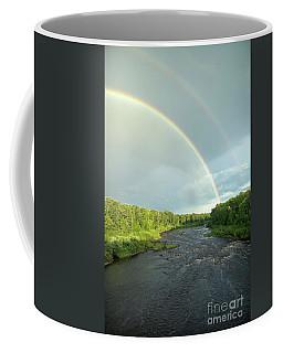 Rainbow Over The Littlefork River Coffee Mug