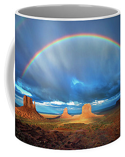 Rainbow Over The Mittens Afternoon Coffee Mug