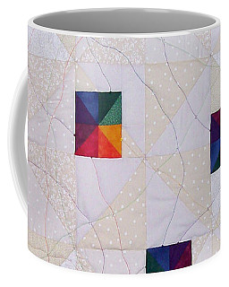 Rainbow Pinwheel Coffee Mug