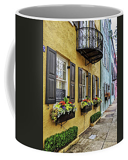 Rainbow Row Up Close Coffee Mug