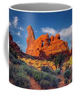 Rainbow Turret Coffee Mug