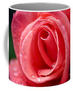 Raindrops On Rose Coffee Mug
