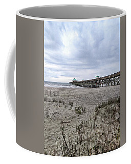 Rainy Beach Day Coffee Mug