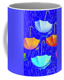 Rainy Day Parade Coffee Mug