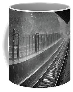 Coffee Mug featuring the photograph Rainy Days And Metro by Lora J Wilson