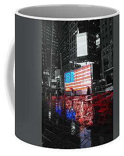 Rainy Days In Time Square  Coffee Mug