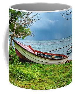 Rainy Fishing Day Coffee Mug