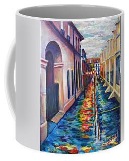 Rainy Pirate Alley Coffee Mug
