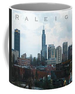 Raleigh Skyline Photo 16 X 20 Ratio Coffee Mug
