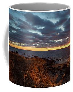 Randall Point Sunset At Barn Island - Stonington Ct Coffee Mug