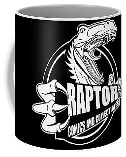 Raptor Comics Black Coffee Mug