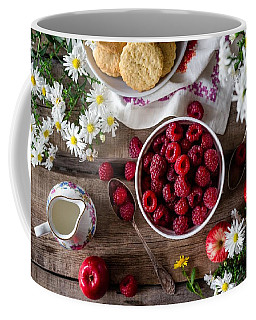 Raspberry Breakfast Coffee Mug