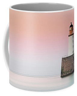 Coffee Mug featuring the photograph Rattray Lighthouse Sunset- Scotland by Grant Glendinning