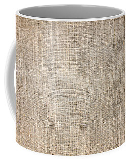 Raw Natural Linen Coffee Mug