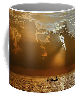 Coffee Mug featuring the photograph Rays Light The Way by Tom Claud