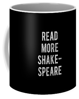Coffee Mug featuring the digital art Read More Shakespeare Vintage by Flippin Sweet Gear