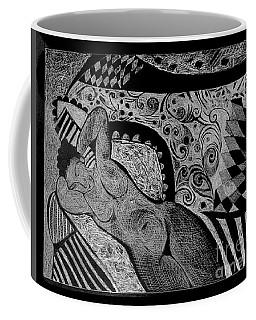 Reclining With Pillows Coffee Mug