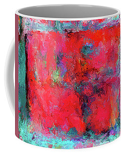 Rectangular Red Coffee Mug