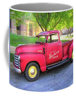 Red 1950 Chevy 3100 Pickup Coffee Mug