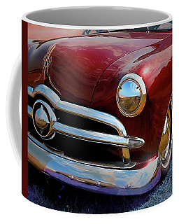 Red 1950 Ford Traditional Custom Coffee Mug