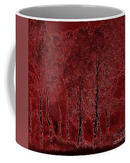 Red Aspen Grove Coffee Mug