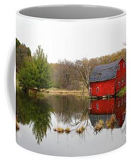 Red Barn Reflections Coffee Mug