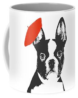 Red Beret Dog Coffee Mug