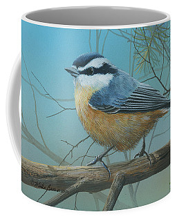 Red Brested Nuthatch Coffee Mug