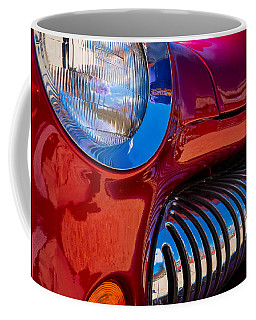 Red Car Chrome Grill Coffee Mug